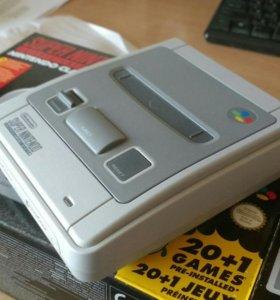 SNES mini × Super Nintendo Entertament System