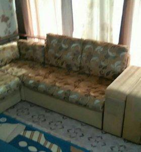 Диван кровать с креслом