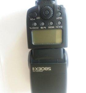 Вспышка Canon 580EX II с софтбоксом