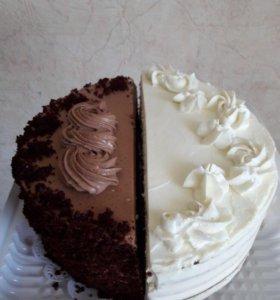 Торт Половинки