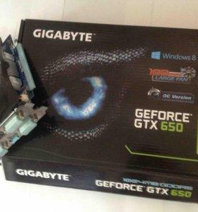 Новая Видеокарта Gigabyte GeForce GTX 650