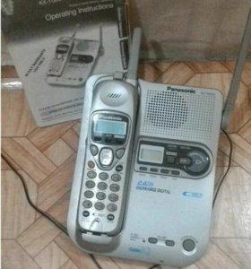 Стационарный телефон Panasoniс с автоответчиком