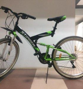 Продам надежный велосипед Stinger Banzai
