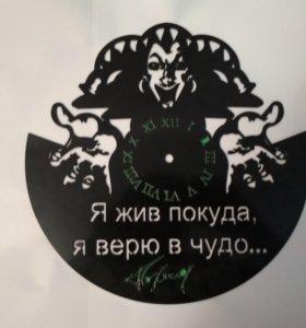 """Часы поклонников музыкальной группы """"КиШ"""" ."""