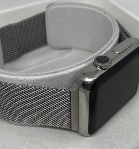 Apple Watch стальные 42 мм