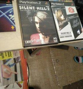 Диски на PS2