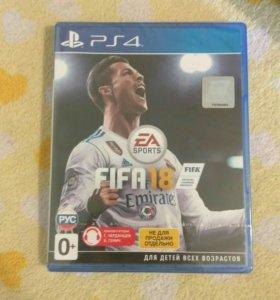 FIFA18, игры для ps 4