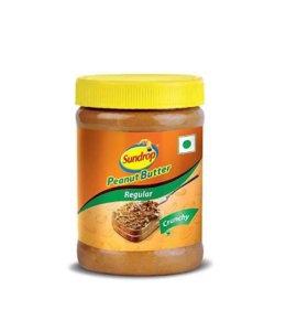 Арахисовое масло с кусочками арахиса, 200 г.,Индия