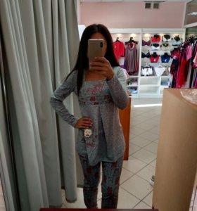 Пижама костюм домашний для беременных