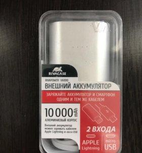 Портативный аккумулятор Riva VA1010 SD1 10000mAh