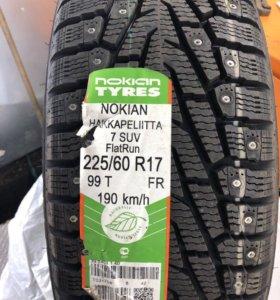Nokian 225/60/17 новые
