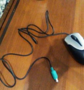 Отдам две новые компьютерные мышки без дефектов