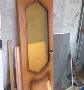 Дверь межкомнатная с остеклением