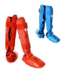 Защита голени и стопы для каратэ (футы)