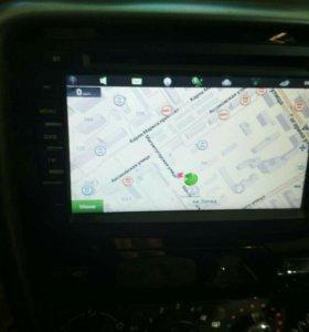 """Навигационная система 7"""" для reno daster"""