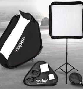 Nikon sb-700 и комплект Godox со стойкой
