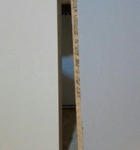 Столешница белая без кромочной ленты