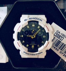 Часы Casio G-Shock GA-100CS-7AER