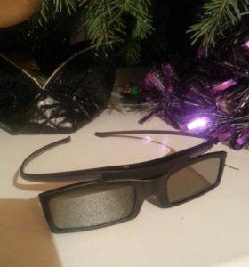 3D очки новые