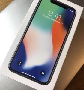 iPhone X 64 silver