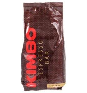 Кофе в зернах с Италии 1кг Kimbo