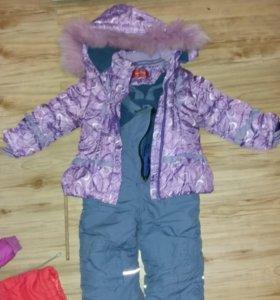 Вещи зимние и пальто