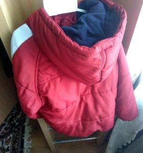 Курточка  унисекс демисизоная отличное 2-4 года