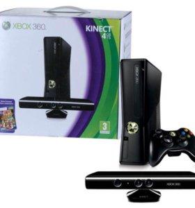 Xbox 360 +Kinect в придачу 10 игр