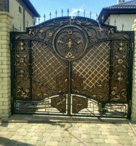Ворота,распашные, откатные