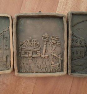 картины из керамики