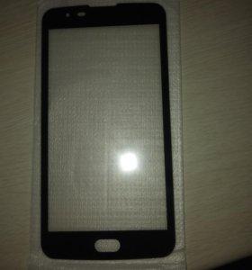 Продам защитное стекло на телефон LG K8 k350n