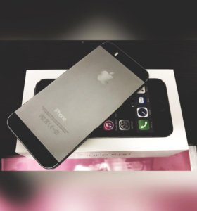 Продам iPhone 5s ( чехлы в подарок)