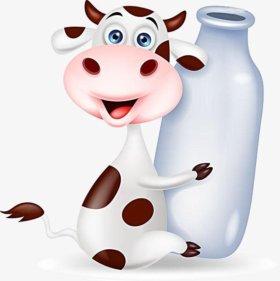 Коровье молочко