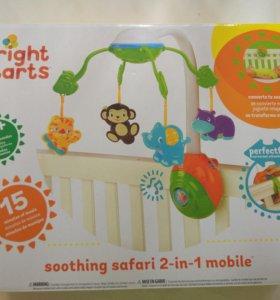 Детский электрический мобиль