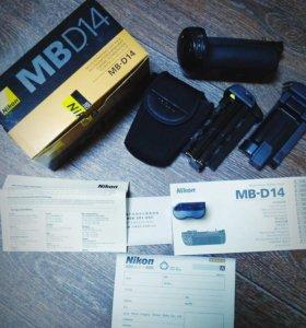 Питающая рукоятка Nikon MB-D14