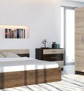 Спальня новая уютная