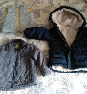 Продам курточки на мальчика