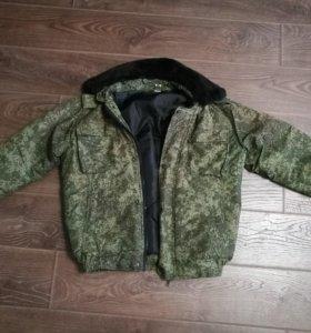 Куртка утеплённая (бушлат).