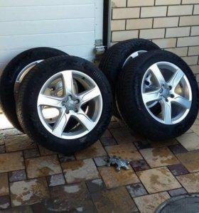 Оригинальные летние колёса для Audi