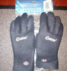 Перчатки для подводной охоты cressi