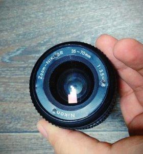 Объектив Nikon 35-70mm макро после ремонта