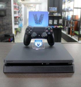 Playstation 4 Slim 500gb + (2 Игры)