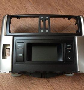 Монитор магнитолы штатный Toyota Prado 150