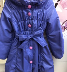 Пальто для девочки осенне-весеннее