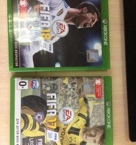 FIFA 17 и 18 на Xbox One