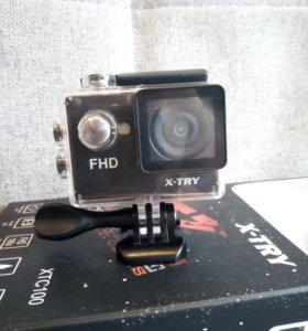 Экшн-камера X-TRY XTC100 FHD.