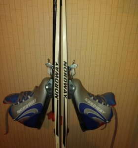Лыжи для школьника.