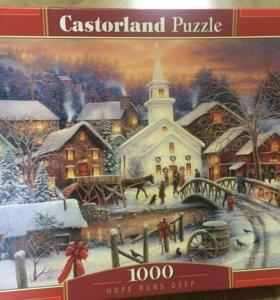 Пазлы Рождество 1000