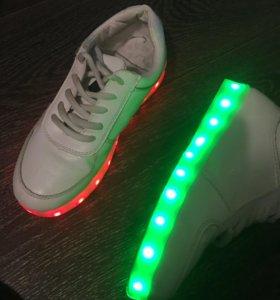 светящиеся кросы детям