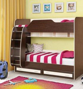 Двухъярусные кровати для детской.